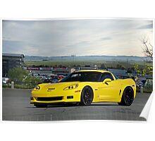 2008 Corvette Z06 'High Road' Poster