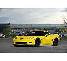 2008 Corvette Z06 'High Road' Photographic Print