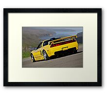 1992 Acura NSX 'Above the Bay' Framed Print