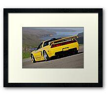 1992 Acura NSX 'Above the Bay' Framed Print