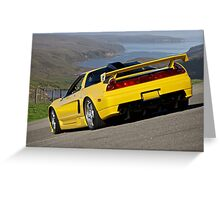 1992 Acura NSX 'Above the Bay' Greeting Card