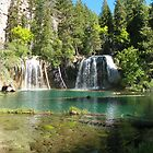 Hanging Lake's emerald waters by David  Hughes