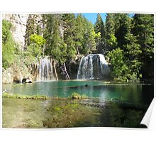 Hanging Lake's emerald waters Poster