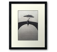 Untroubled Framed Print