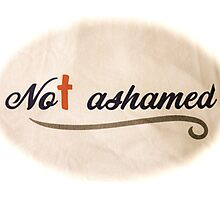 Not Ashamed - The Cross Saved My Life Photographic Print