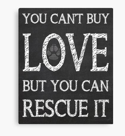 Rescue It Canvas Print