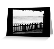 Inside Looking Out Greeting Card