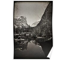 Mirror Lake 2 - Yosemite National Park - Vintage Poster