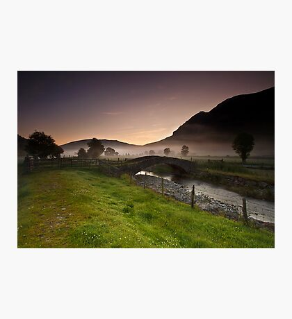 St John's In The Vale Mist Photographic Print