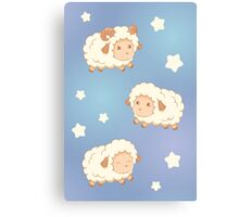 Cute Little Sheep Canvas Print