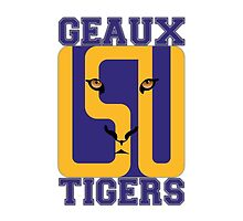 LSU - GEAUX TIGERS! by Marc Bublitz