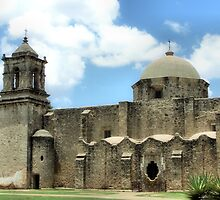 Mission, San Jose, San Antonio, Texas by SuddenJim