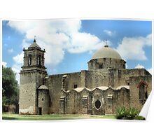Mission, San Jose, San Antonio, Texas Poster
