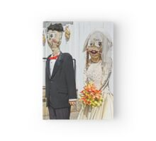 Going to the Chapel- funny wedding couple Hardcover Journal