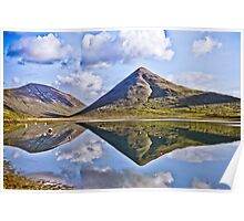 Skye Reflections Poster