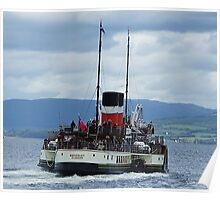 The Waverley Paddle Steamer Poster