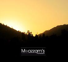 Sunset by Moazzam Ali