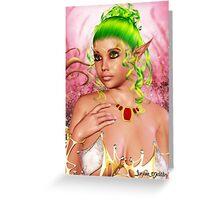 Enchanted Fantasy I Greeting Card