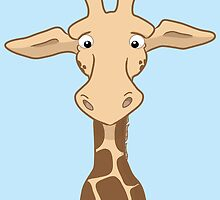 Quizzical Giraffe by Lorna Mulligan