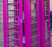 Telephone Box, Covent Garden, London by TeresaMiddleton