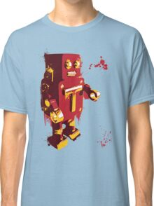 Red Tin Robot Splattery Shirt or iPhone Case Classic T-Shirt