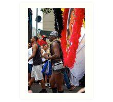 Carnival Costume Art Print