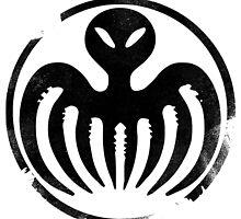 SPECTRE (Black) by JurassicArt