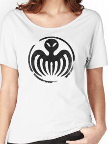 SPECTRE (Black) Women's Relaxed Fit T-Shirt