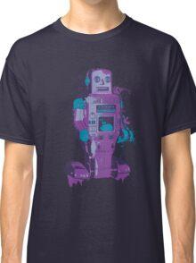 Purple Toy Robot Splattery Shirt or iPhone Case Classic T-Shirt