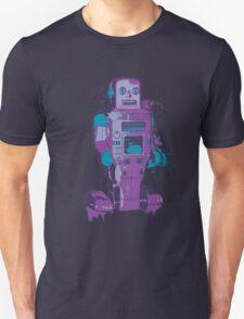 Purple Toy Robot Splattery Shirt or iPhone Case T-Shirt