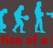 Evolution of a dude blue by Vintagestuff