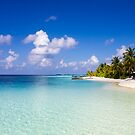 Maldives, Kuramathi island by Bruno Beach