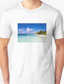Maldives, Kuramathi island Unisex T-Shirt
