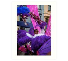 Male Carnival Costume Art Print