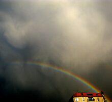 Rainbow House #2 by AnnaGriff