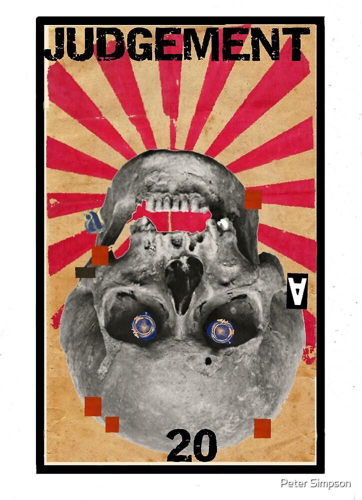 Dada Tarot- Judgement by Peter Simpson