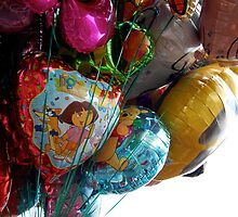Carnival Balloons by Melissa Fuller
