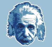 Albert Einstein - Theoretical Physicist - Blue Kids Tee