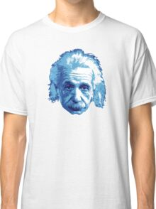 Albert Einstein - Theoretical Physicist - Blue Classic T-Shirt