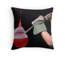 Balloon v Chisel II Throw Pillow