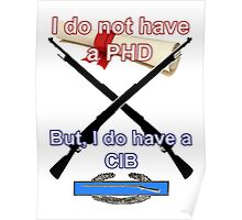 I do not have a PHD... Poster