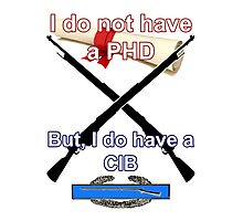 I do not have a PHD... Photographic Print