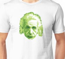 Albert Einstein - Theoretical Physicist - Green Unisex T-Shirt