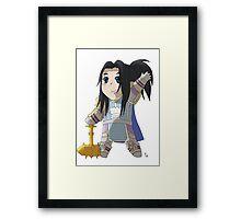 Chibi Paladin Framed Print
