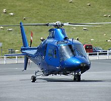 Agusta G-HDTV - Castle Air Charters by Peter Gosling
