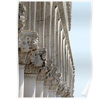 Colonnade - The Doge's Palace, Venice Poster