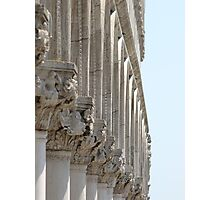 Colonnade - The Doge's Palace, Venice Photographic Print