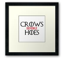 Crows Before Heos Framed Print