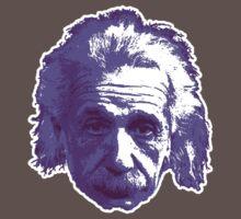Albert Einstein - Theoretical Physicist - Purple One Piece - Short Sleeve