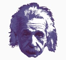 Albert Einstein - Theoretical Physicist - Purple One Piece - Long Sleeve